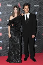 Ana de Armas y Marc Clotet en la gala contra el Sida 2010