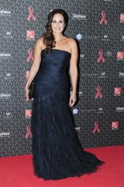 Ana Milán en la gala contra el Sida 2010