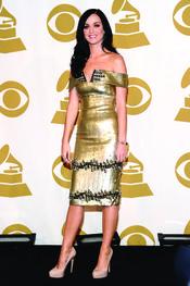 Katy Perry nominada al mejor álbum en los Grammy 2011