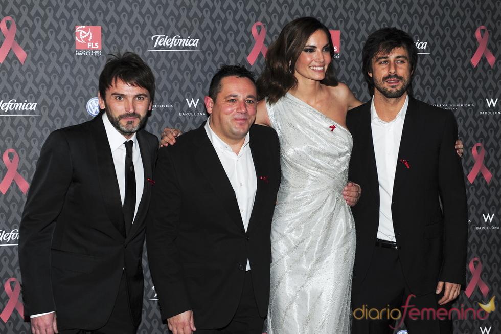 Actores solidarios en la gala contra el Sida 2010