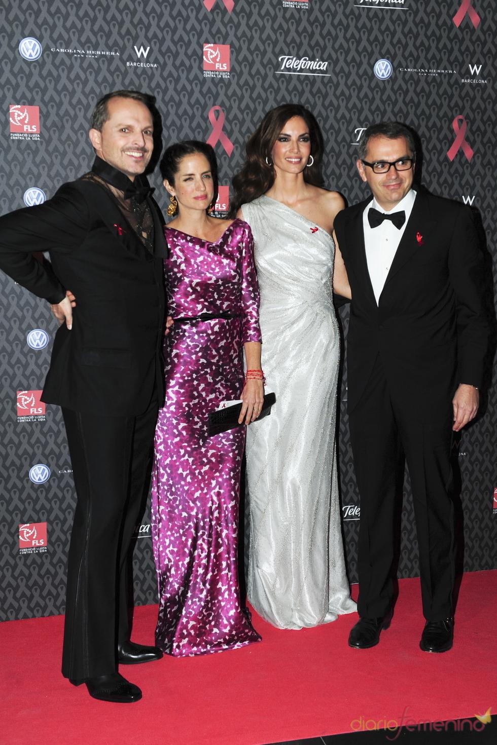 Carolina Adriana Herrera, perfecta en la gala contra el Sida 2010