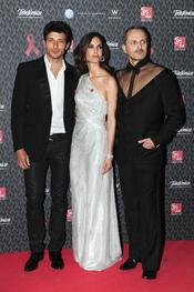 Miguel Bosé, Eugenia Silva y Andrés Velencoso