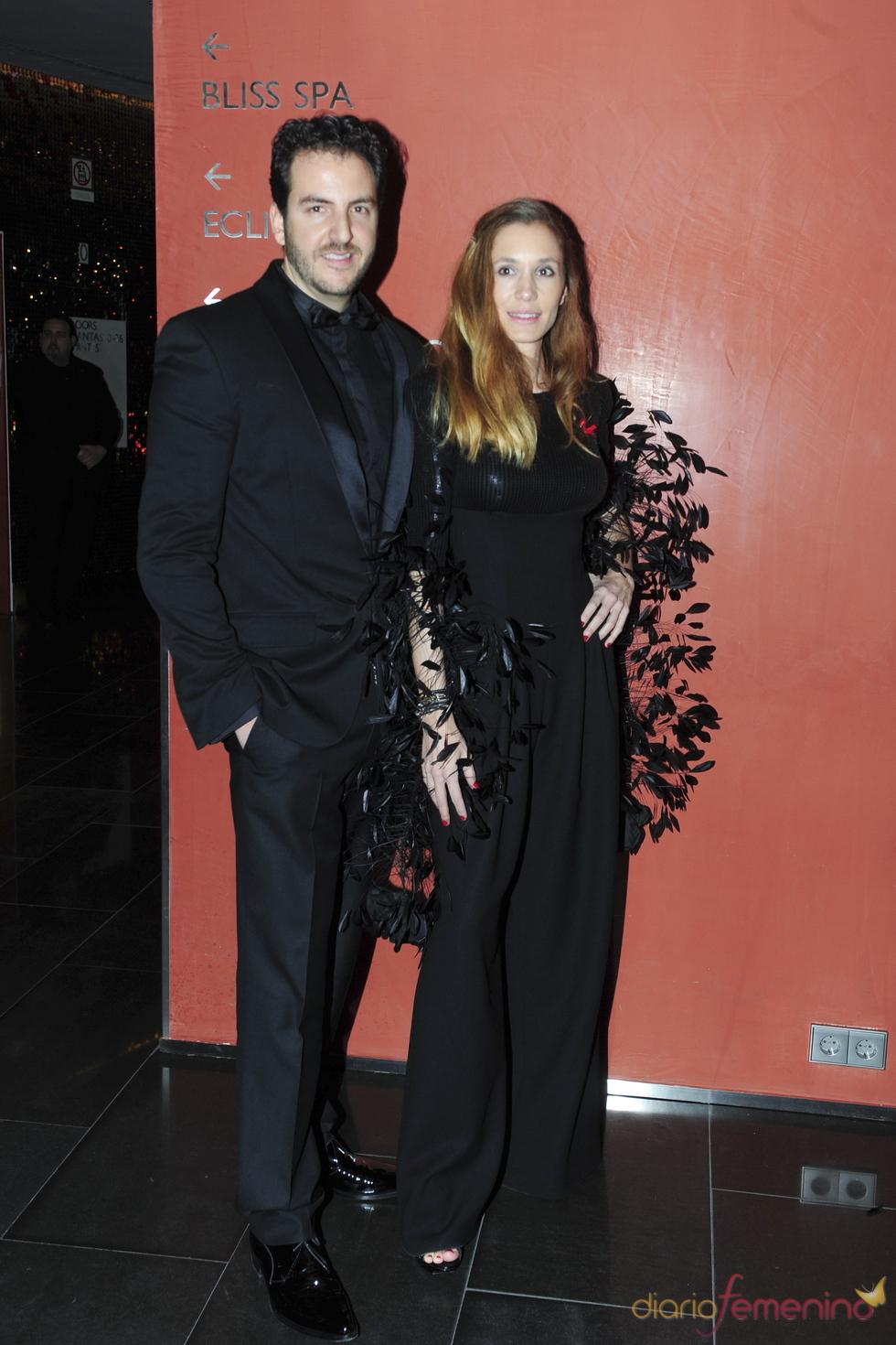 Borja Thyssen y Blanca Cuesta en la gala contra el Sida 2010