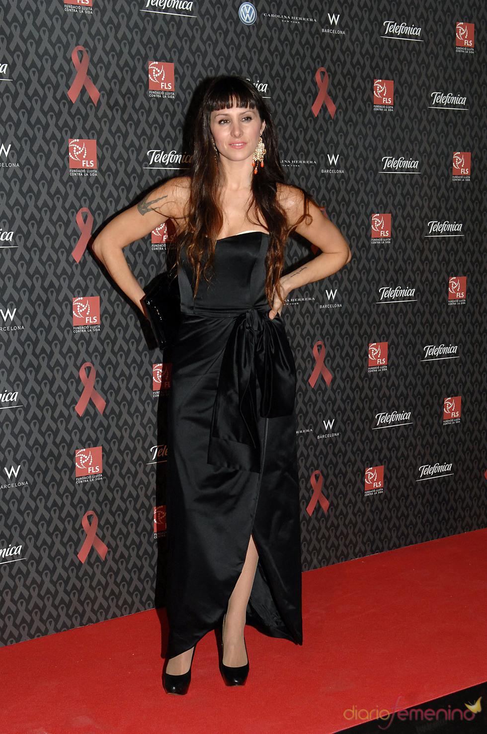 Mala Rodríguez en la gala contra el Sida 2010