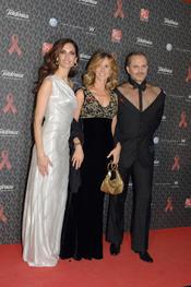 Miguel Bosé, Eugenia Silva y Cristina Garmendia