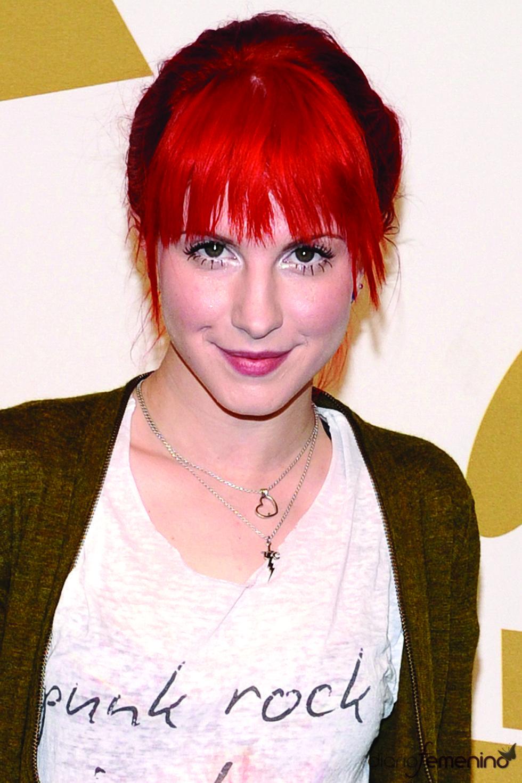 Hayley Williams del grupo Paramore en las nominaciones a los Grammy 2011