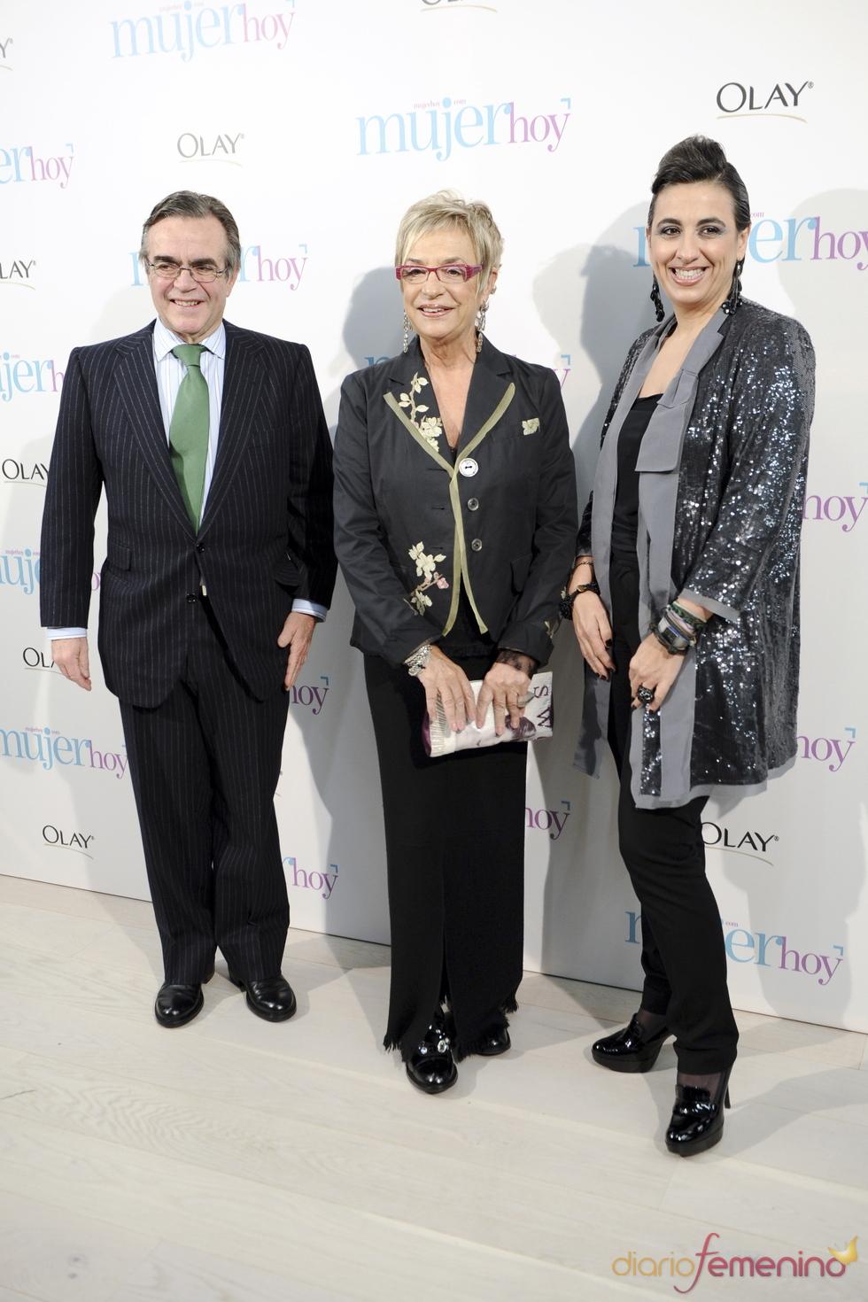 Rosalía Mera en los Premios Mujer Hoy 2010