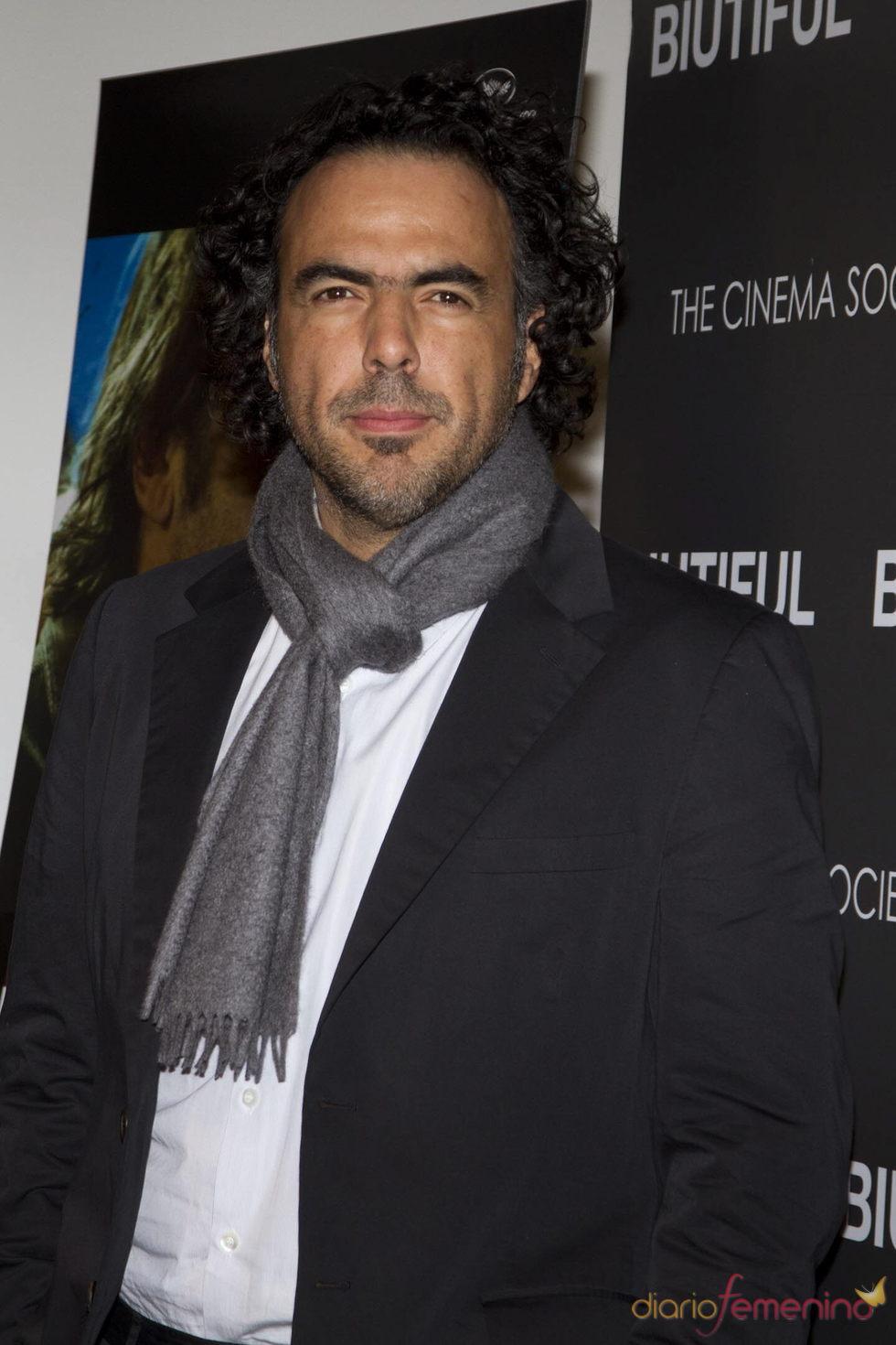 Alejandro González Iñárritu en la presentación de 'Biutiful' en Nueva York