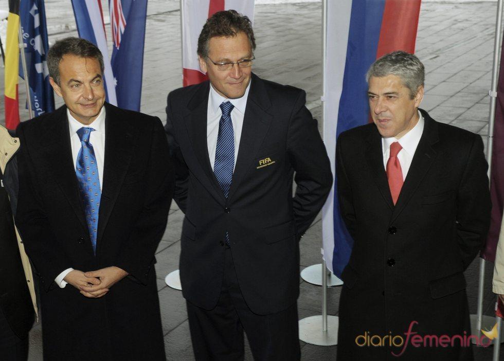 Zapatero defiende la sede española para el Mundial de Fútbol 2018