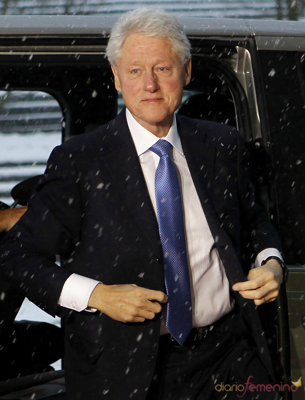Bill Clinton en Zurich