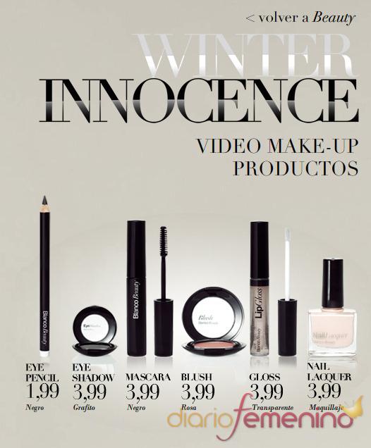 Gama Winter Innocence de maquillaje Blanco