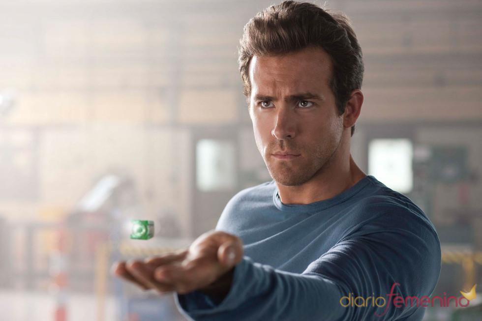 Ryan Reynolds en la película Green Lantern