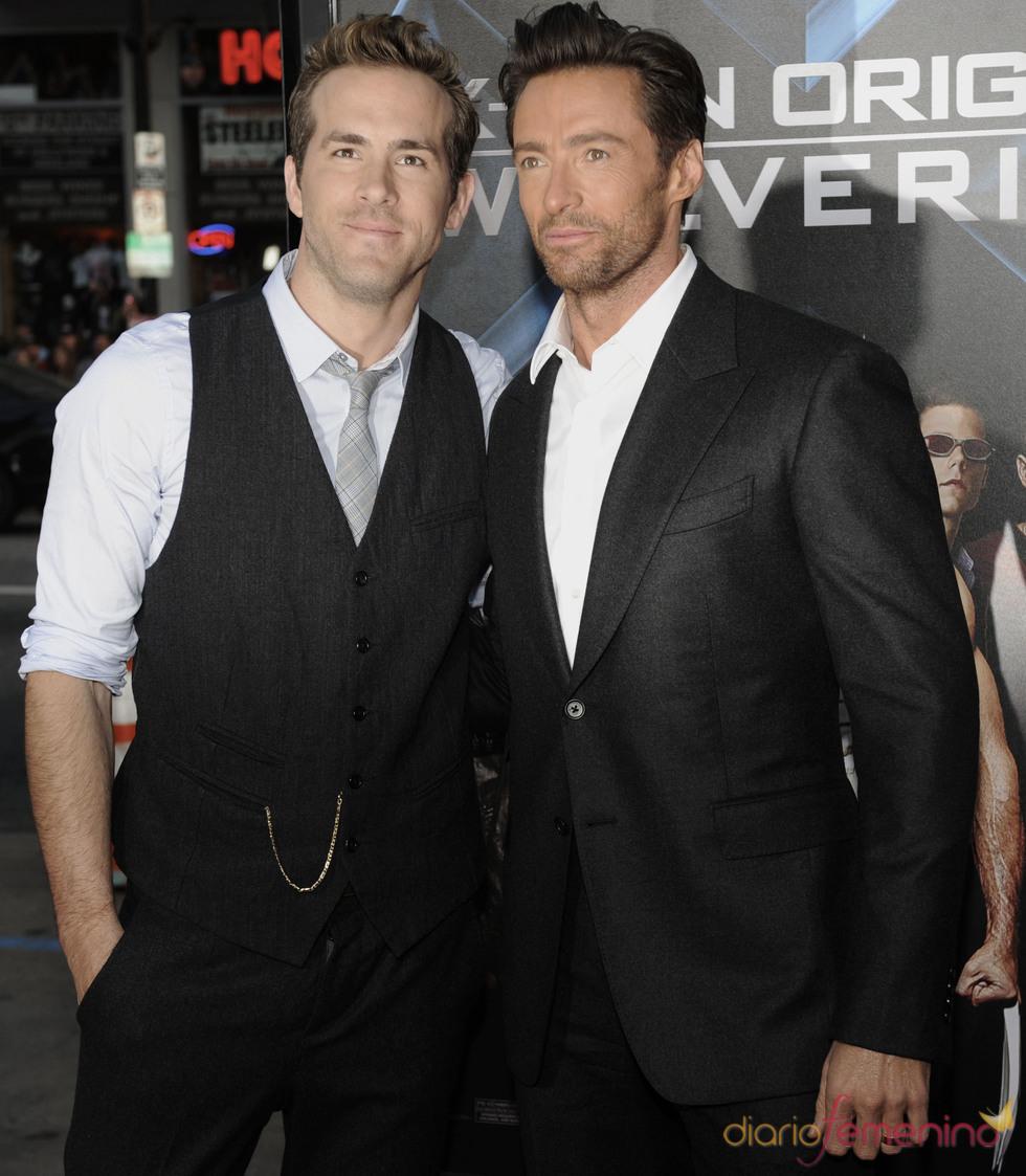 Ryan Reynolds con Huck Jackman