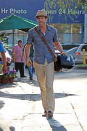 Ryan Reynolds con un look casual