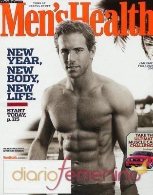 Ryan Reynolds portada de la revista Men's Health