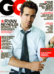 Ryan Reynolds portada de la revista GQ