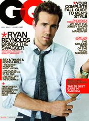 Ryan Reynolds portada de la revista GQ