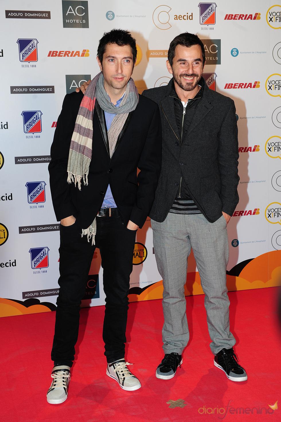 Frank Blanco y Santi Millán, juntos por mali