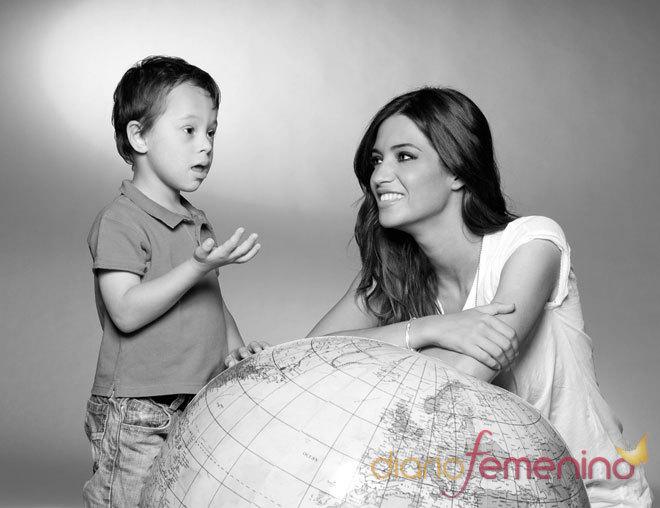 Sara Carbonero apoya a los niños con síndrome de Down - Fotos de ...