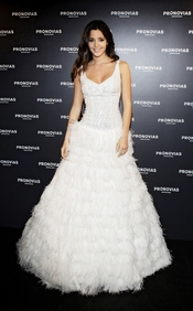 Malena Costa, novia de Carles Puyol, se viste de novia