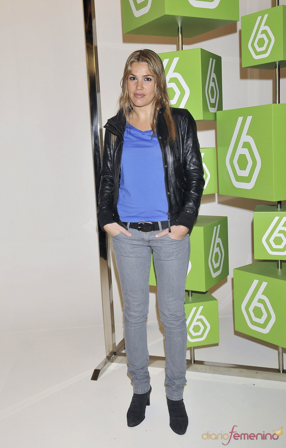 Nira Juanco en la presentación del Mundial de F1 en La Sexta
