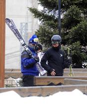 La Infanta Elena esquiando en Baqueira