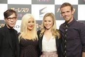 Christina Aguilera y Cher han presentado en Tokio 'Burlesque'