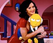 Katy Perry celebra la Navidad con Los Simpsons