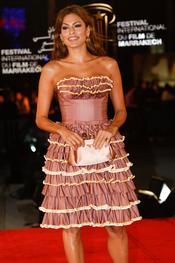 Eva Mendes deslumbra Marrakech con su elegancia