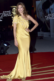 Eva Mendes derrocha elegancia en el Festival de Cine de Marrakech