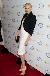 Charlize Theron, anfitriona de una fiesta benéfica