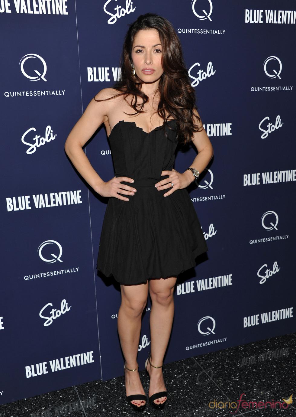 Sarah Shahi en la premiere de 'Blue Valentine'