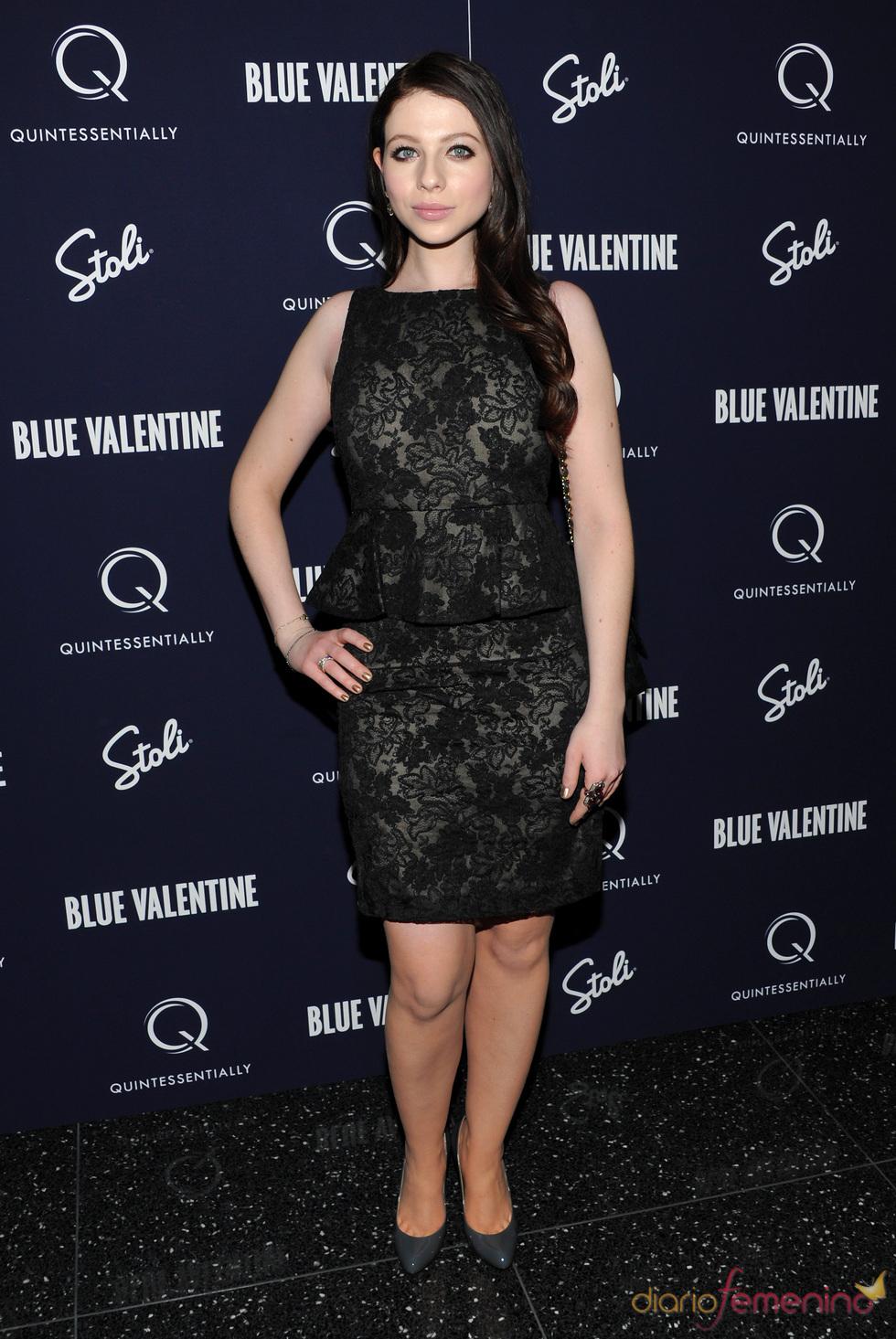 Michelle Trachtenberg en el estreno de 'Blue Valentine'
