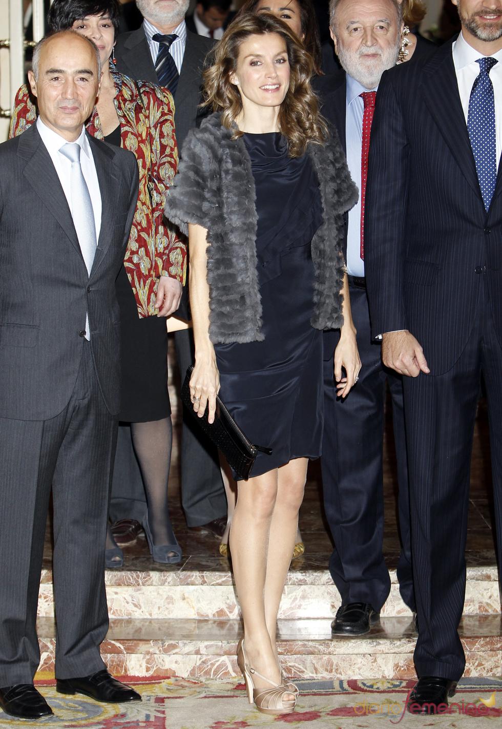 Letizia Ortiz durante la entrega de premios Francisco Cerecedo de la Asociación de Periodistas Europeos