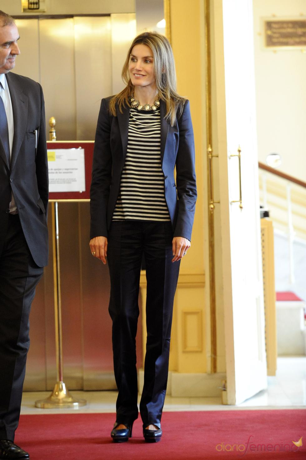 Letizia Ortiz en el Día Internacional de la lucha contra el Trabajo Infantil