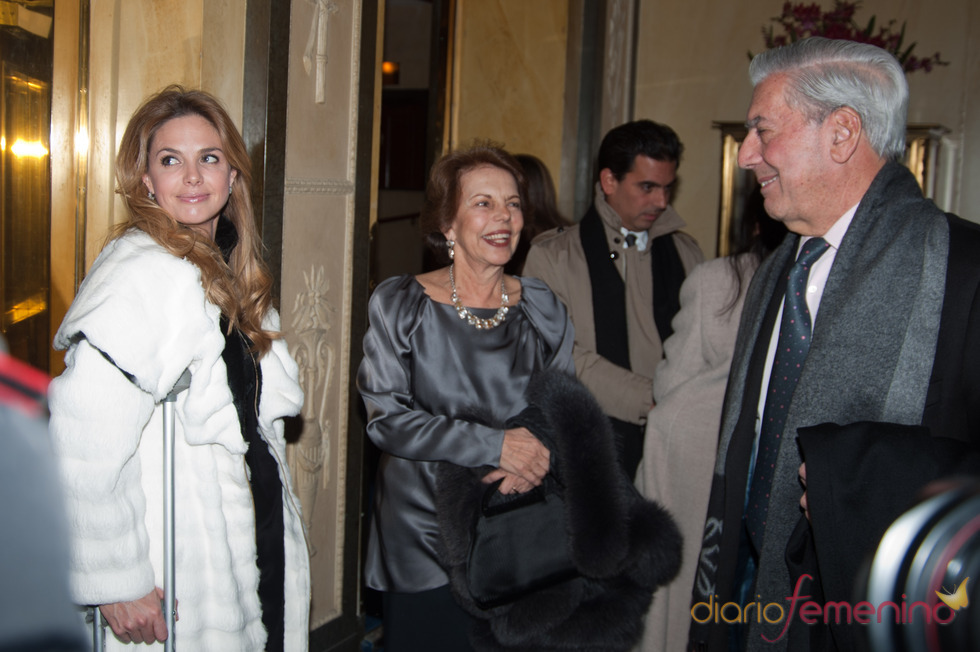 Genoveva y la familia Vargas Llosa