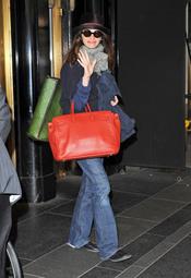 Julia Roberts caminando por Nueva York