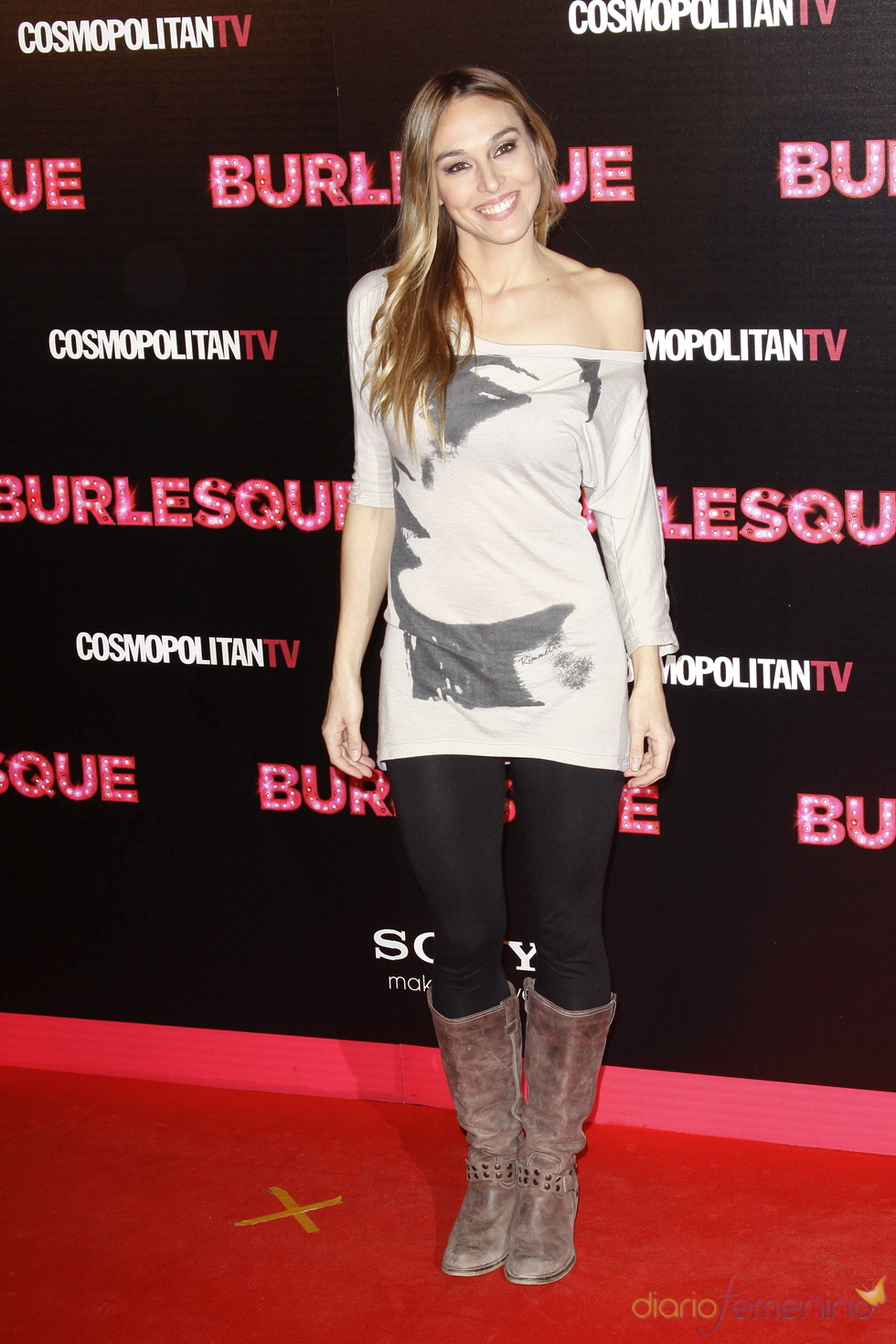 Pau Vázquez fue a la presentación de 'Burlesque' en Madrid