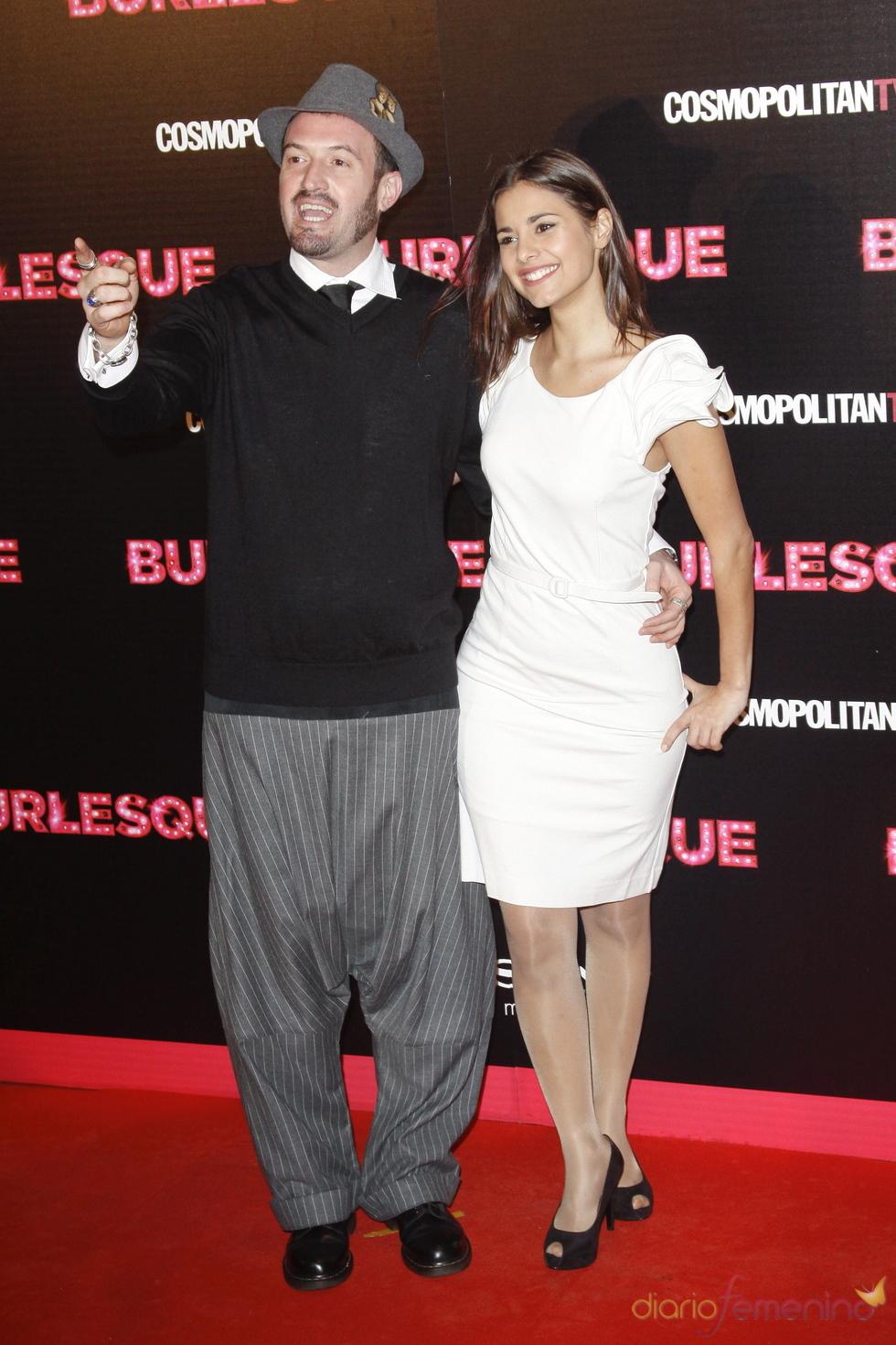 Alex O'Dogherty acudió a la premiere de 'Burlesque' en Madrid