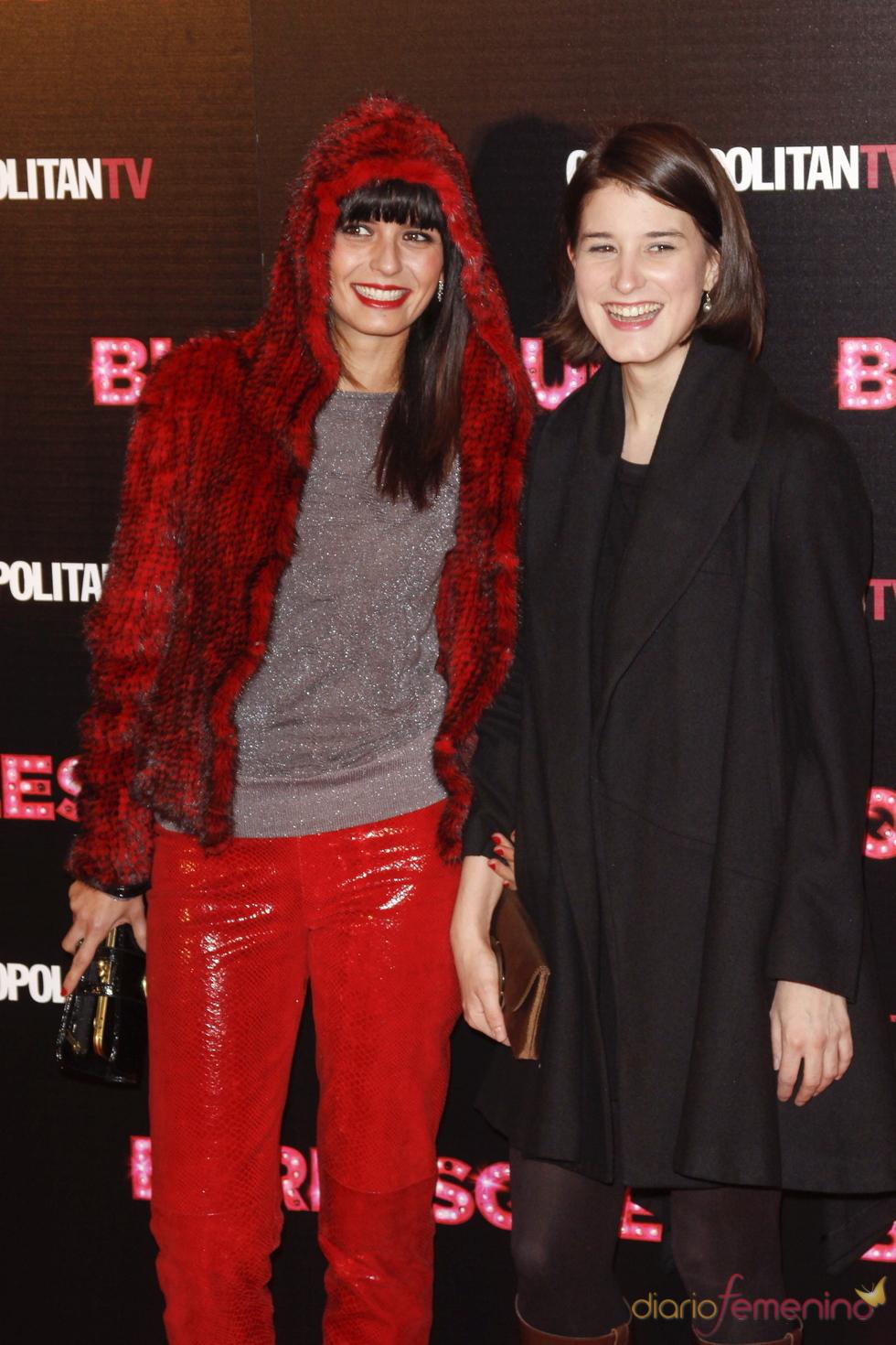 María Reyes asistió a la presentación en Madrid de 'Burlesque'