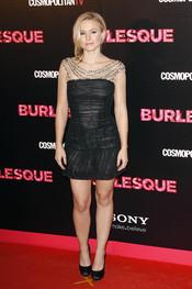 Kristen Bell acudió para prmocionar 'Burlesque' a Madrid