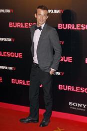 Cam Gigandet en la presentación de 'Burlesque' en Madrid