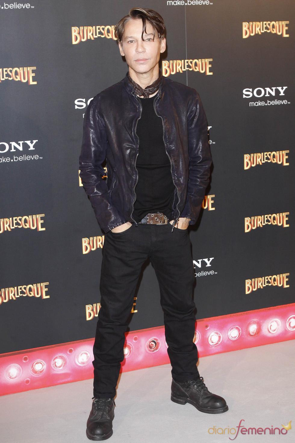 Steven Antin en la premiere de 'Burlesque' en Madrid