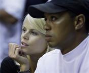 Elin Nordegren y Tiger Woods
