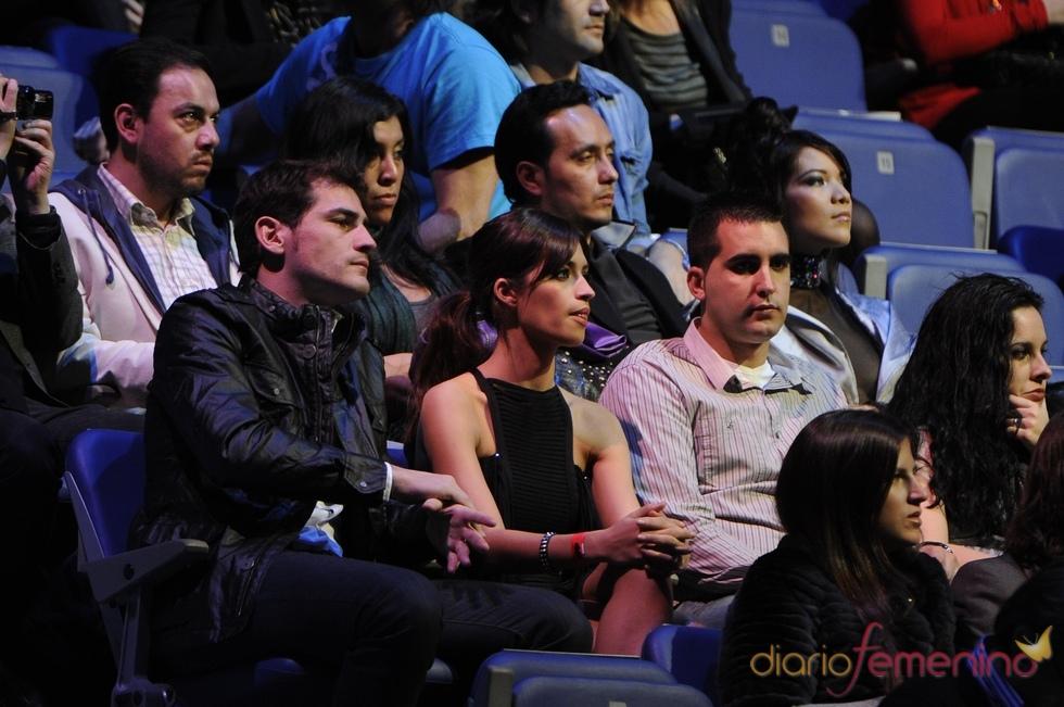 Sara Carbonero e Íker Casillas en los Premios 40 Principales 2010
