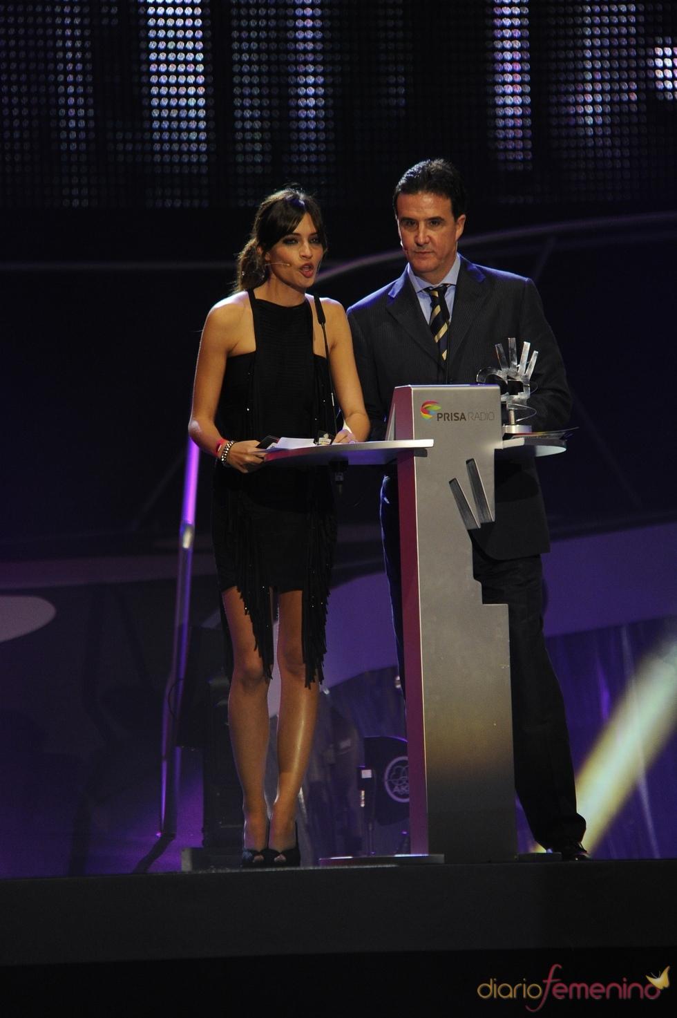 Sara Carbonero con José Ramón de la Morena