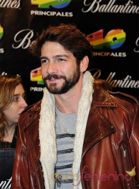Felix Gómez en los Premios 40 Principales 2010