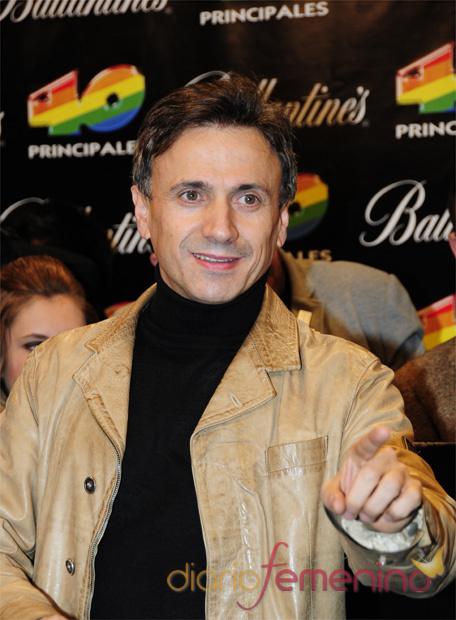 Jose Mota en los Premios 40 Principales 2010