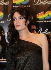 Mar Saura en los Premios 40 Principales 2010