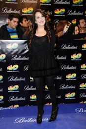 Nena Daconte en los Premios 40 Principales 2010